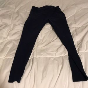 kids navy leggings (7/8)